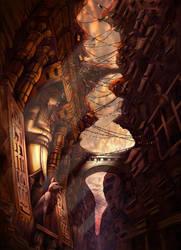 Fantasy Egypt by jubjubjedi