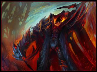 Night Lord Daemon Prince by jubjubjedi