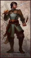 Dune: Swordmaster of Ginaz by jubjubjedi