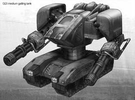 Command and Conquer tank by jubjubjedi