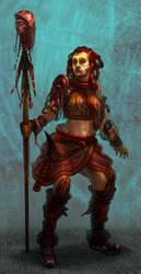 Red Riding Hood-'Tribepunk' by jubjubjedi