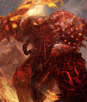 Fire Giant (Level 4) by jubjubjedi
