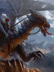 Dragon Rider by jubjubjedi