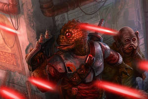 Bodyguard - Star Wars:Edge of Empire Core Rulebook by jubjubjedi