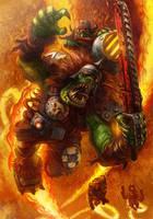 Death From Above - Warhammer 40K:Only War by jubjubjedi