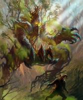 Tree Monster by jubjubjedi