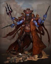 Shiva Cowboy by jubjubjedi
