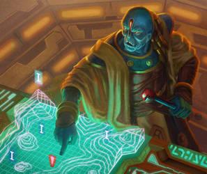 Homing Beacon - Warhammer 40,000: Conquest by jubjubjedi