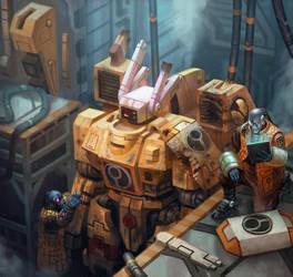 Repair Bay - Warhammer 40,000: Conquest by jubjubjedi