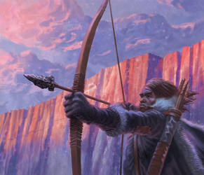 Ranger's Bow : Game of Thrones - All Men are Fools by jubjubjedi
