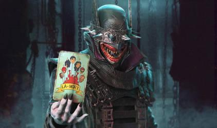 Dark Knights Metal: Joker/The Batman Who Laughs by jubjubjedi