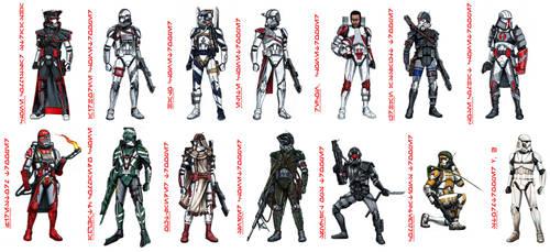 Star Wars Clonetrooper concept by jubjubjedi