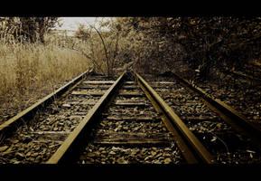 Railway to nowhere by Elessar91