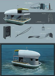 Toy Boat design by KennedFood