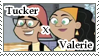TuckerxValerie Stamp by Linariel
