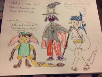 Dororon Buwaro-kun (Demon Prince Buwaro) by bellatony55