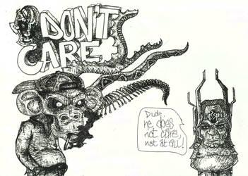 Ape don't care by mackingfac