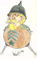 Captain Bismarck by mackingfac