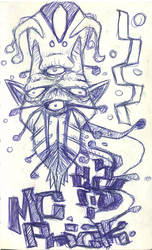 Four Eyed Monster by mackingfac