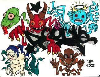 Random Doodle Color by mackingfac