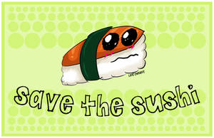 save the sushi by LastChavive