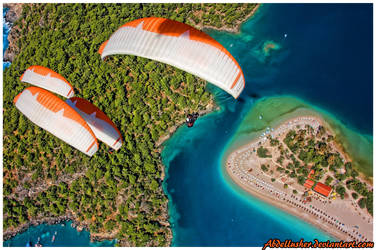 Paragliding by abdellusher