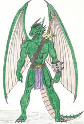 Dragon Man by RageInThyDreams