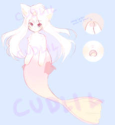 mermaid kitty [24 hour auc] [closed!] by cudlil
