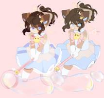 stars n bubbles by cudlil