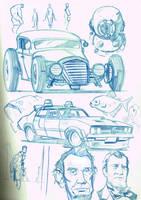 random sketches by boston-joe