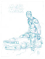 Mad Max Pencil by boston-joe
