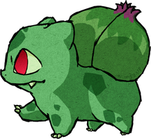 Bulbasaur WWS by the19thGinny