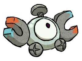 Magnemite WWS by the19thGinny