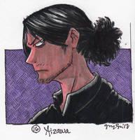 MHA Inktober 16: Aizawa by the19thGinny