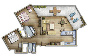 FLOORPLAN 2D by TALENS3D
