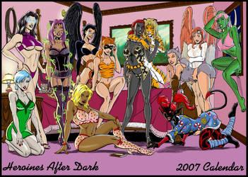 Heroines After Dark 2007 Calen by Rowrsie