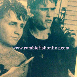 Emilio and Matt Rare Photo of The Outsiders by Rose9227614