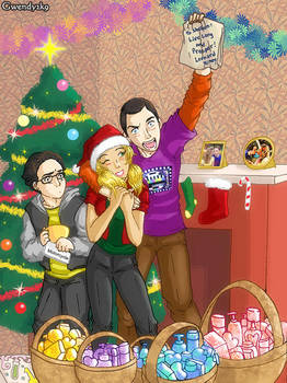 Sheldon's Perfect Christmas by gwendy85