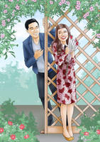 ALDUB / MaiDen : First Date by gwendy85