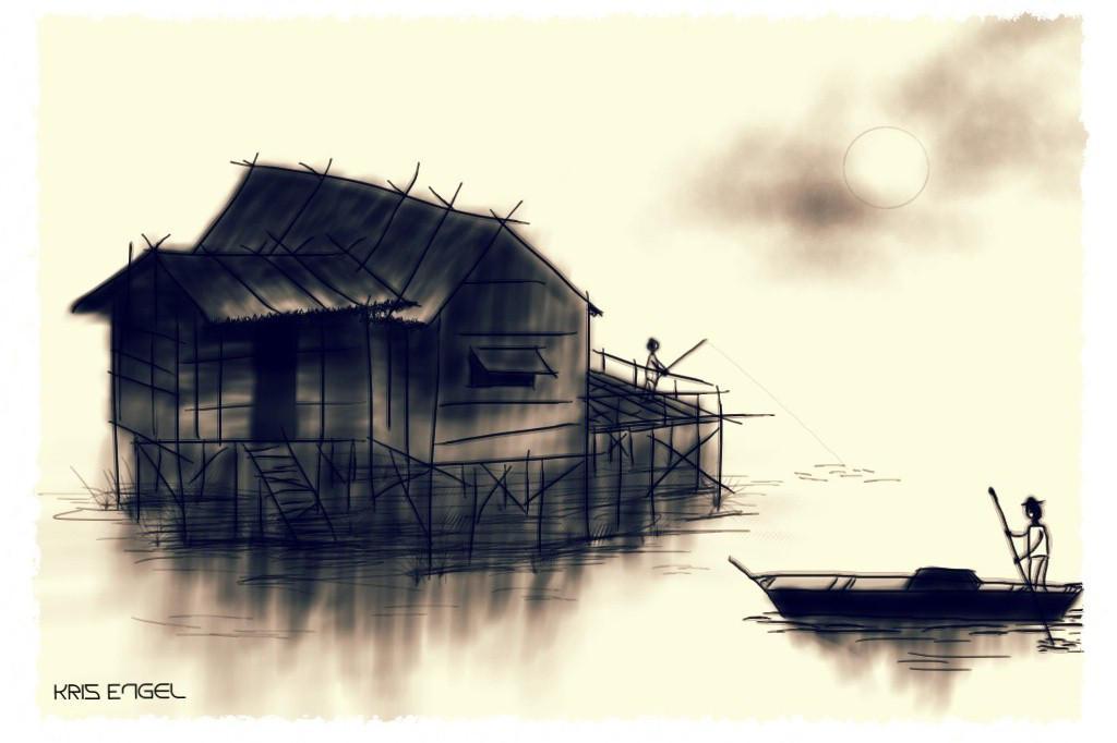 The Boatman by kristopherengel