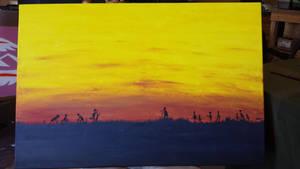 Sunset Harvest by kristopherengel