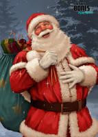 Santa by ArtbyBones