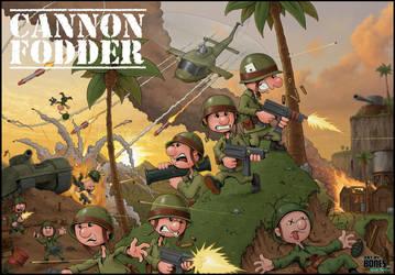 Cannon Fodder by ArtbyBones
