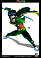 Teen Titans Robin by patokali