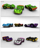 Toy Cars colors by patokali