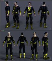 Black Adam Keyshot2 by patokali
