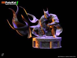 The DarK Bat by patokali