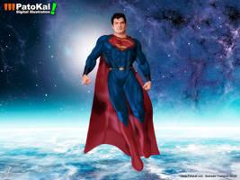 Superman Henry Cavill 2 by patokali