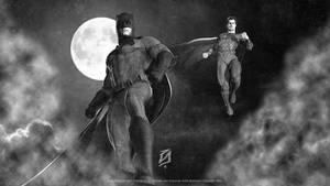 Batman-v-Superman-2016 by patokali