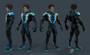 Black-Lightning by patokali